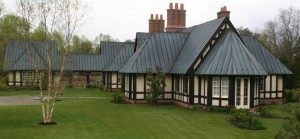 This Standing Seam Metal Roof (copper) is as beautiful as it is durable!