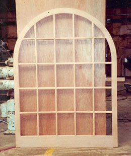 Half Round Wood Window Sash